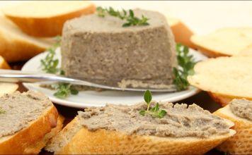 ¡Este paté es delicioso si se come frío con pan tostado, o se unta en bagels, sándwiches, etc.!