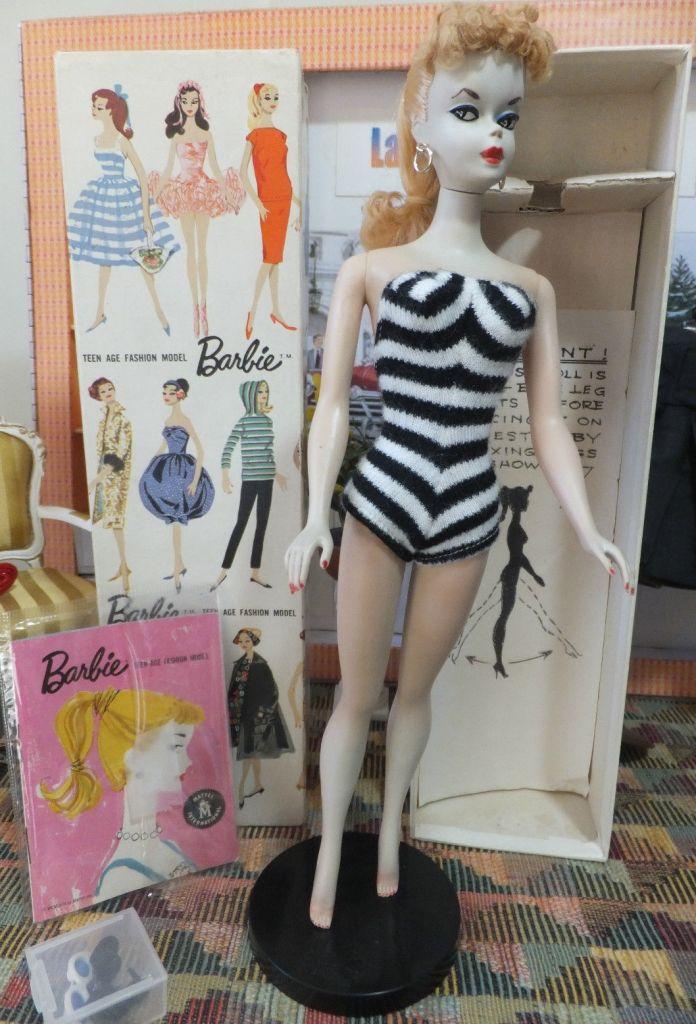 El debut de Barbie de 1959