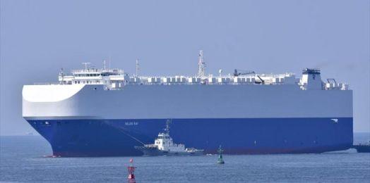 Imágenes de drones iraníes muestran barco israelí tras la explosión