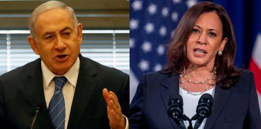 Netanyahu habla por primera vez con Kamala Harris desde que asumió vicepresidencia de EE. UU.