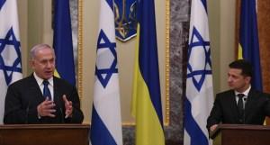 Benjamín Netanyahu y Volodímir Zelensky