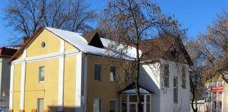 Imagen de la sinagoga vandalizada en Bielorrusia
