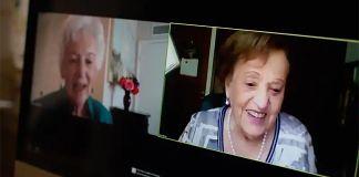 Dos sobrevivientes del Holocausto que eran mejores amigas en Alemania se reunieron más de 80 años después de la última vez que se vieron.