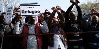 Refugiados africanos en Israel