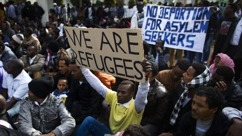 Inmigrantes en Israel
