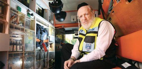 El cofundador y presidente del grupo de respuesta de emergencia de voluntarios de ZAKA fue declarado ganador del premio Israel Prize