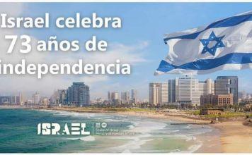 La embajada de Israel en México ofreció una ceremonia virtual con motivo de celebrar el 73 aniversario de la independencia del Estado Judío