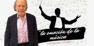 Eduardo Lozowsky creció con la música, desarrollo un oído privilegiado y hoy, imparte clases de apreciación musical