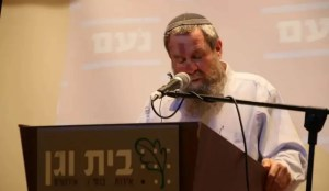 Líder del partido Noam, Avi Maoz