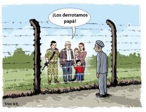 """""""¡Los derrotamos, papa! Del Holocausto al Estado de Israel"""