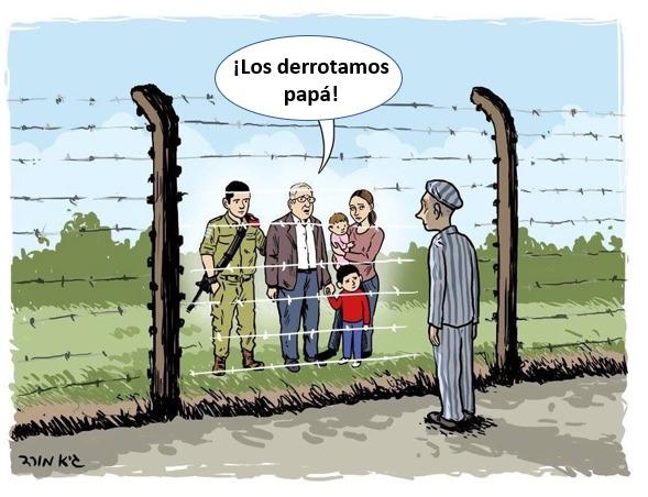 """""""¡Los derrotamos, papa! De Yom Hashoá a Yom Haatzmaut"""