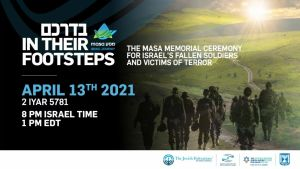 The masa memorial ceremony for Israel's fallen soldiers and victims of terror