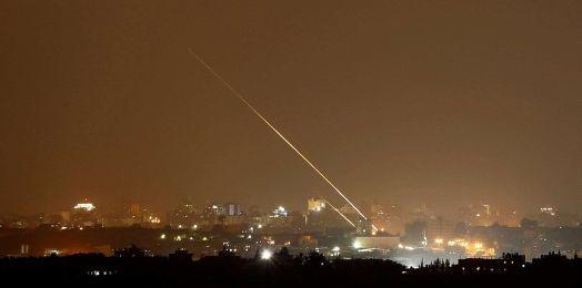 Disparan un cohete desde Gaza hacia Israel