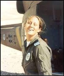 Keren Tendler con su uniforme del ejército israelí