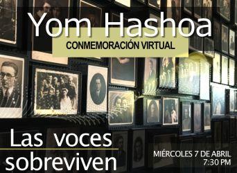 Yom Hashoá: Conmemoración virtual