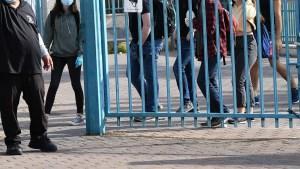 alumnos en una escuela de Israel