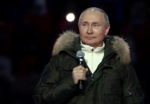 Presidente de Rusia, Vladimir Putin