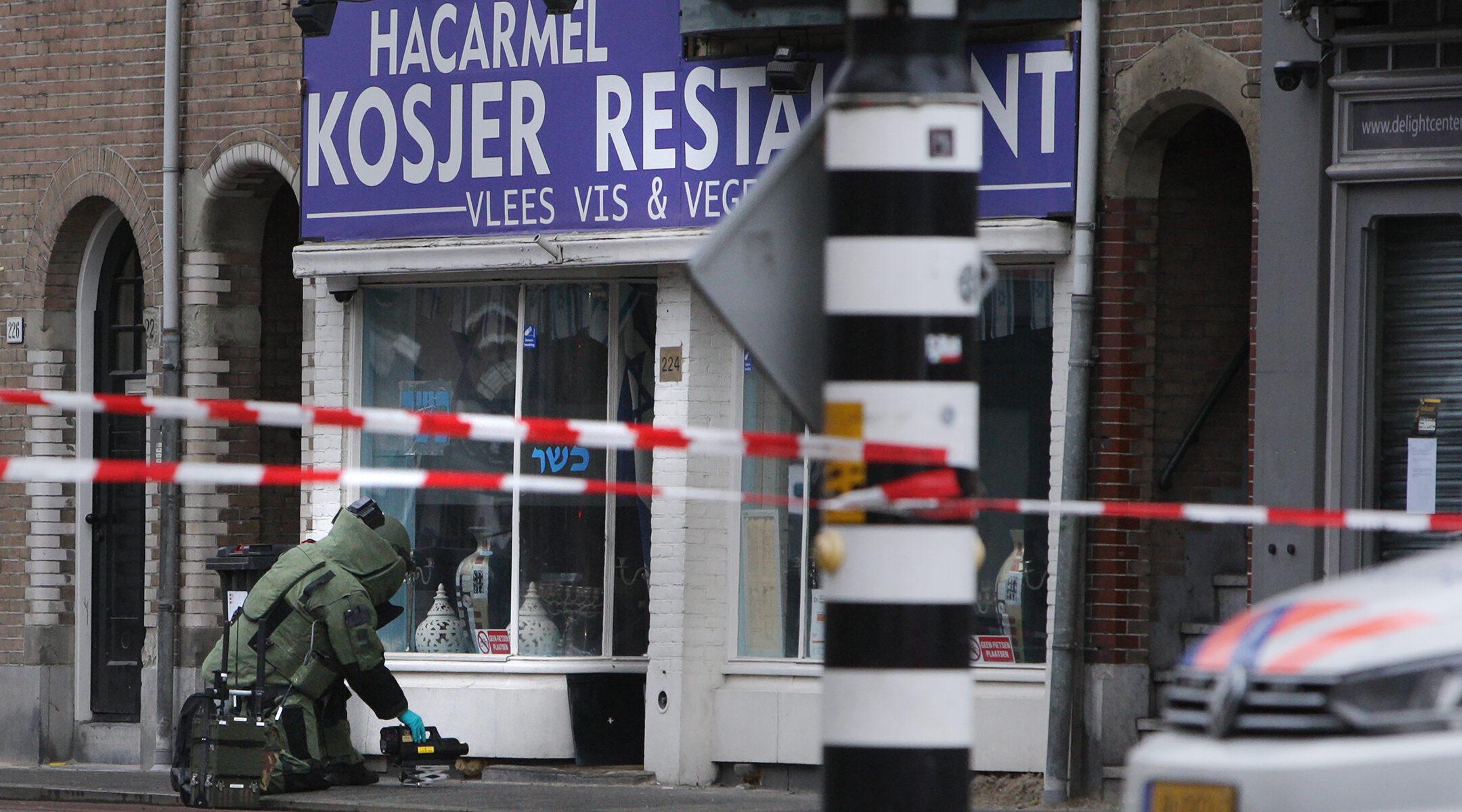 Incidentes antisemitas registrados en los Países Bajos en 2020 disminuyó en un 25% con respecto al año anterior, pero entre los totales más altos en una década