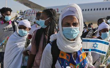Judíos inmigrantes de Etiopía