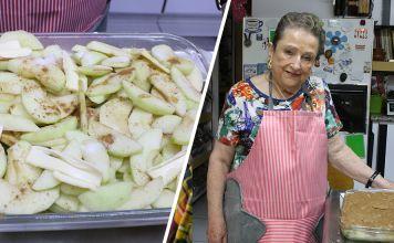 Nuestra Bobe Irma nos trae una deliciosa receta de pastel frio de manzana, perfecta para una tarde lluviosa acompañado de un café calientito