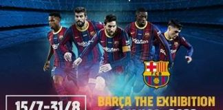 El FC Barcelona, equipo conocido por el legendario jugador Lionel Messi está llevando su nueva exhibición a Israel del 15 de julio al 31 de agosto