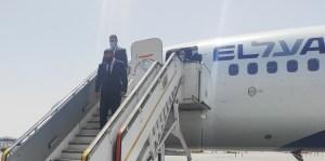 Gabi Ashkenazi llegando a Egipto