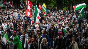 Autoridades en Alemania prometen tomar medidas enérgicas contra acciones antisemitas en manifestaciones y acciones contra Israel