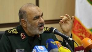 Hossein Salami, jefe de la Guardia Revolucionaria Islámica de Irán