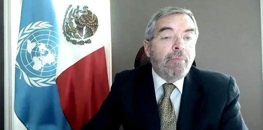 """Juan Ramón de la Fuente: México condena """"uso desproporcionado de la fuerza"""" por Israel en Gaza y ataques de Hamás"""