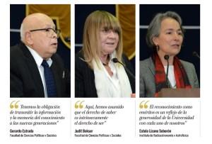 Reconoce la UNAM a Judith Bokser y 151 académicos más por 50 años de labor académica en el contexto del Día del Maestro