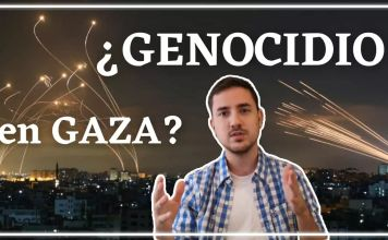 Se utiliza el término GENOCIDIO en relación a la situación de Gaza y los bombardeos del ejército israelí en respuesta a los cohetes lanzados por Hamás