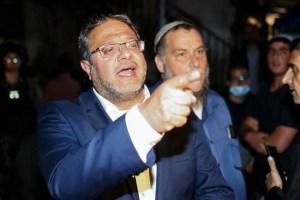 Oficina de Netanyahu advirtió al legislador israelí Itamar Ben-Gvir de ataques desde Gaza si no se iba de Sheikh Jarrah en Jerusalén Este