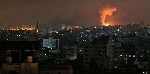 Falso que haya ya una invasión terrestre de Israel en Gaza