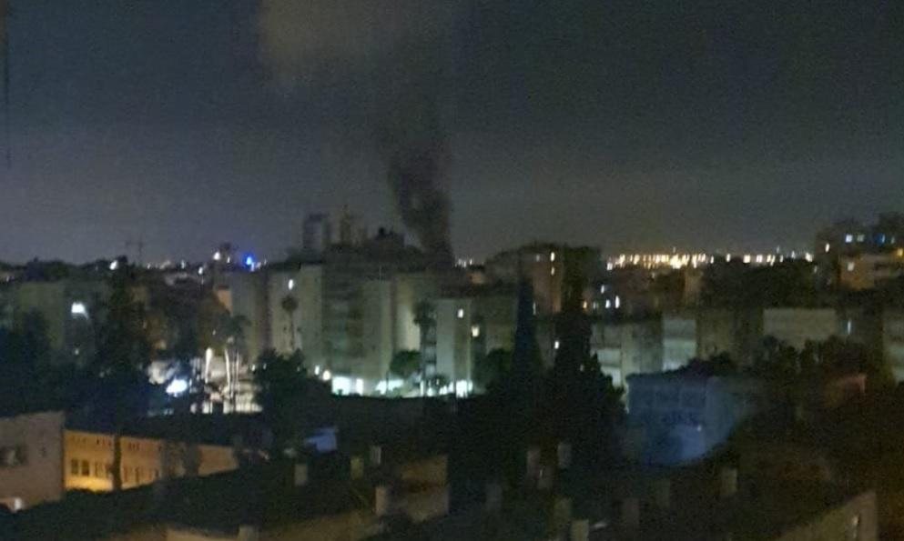 Impacto de cohete en Israel