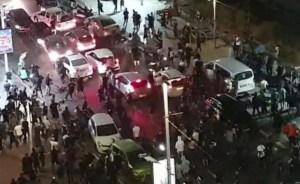 Violencia contra judíos y árabes en Israel-linchamiento