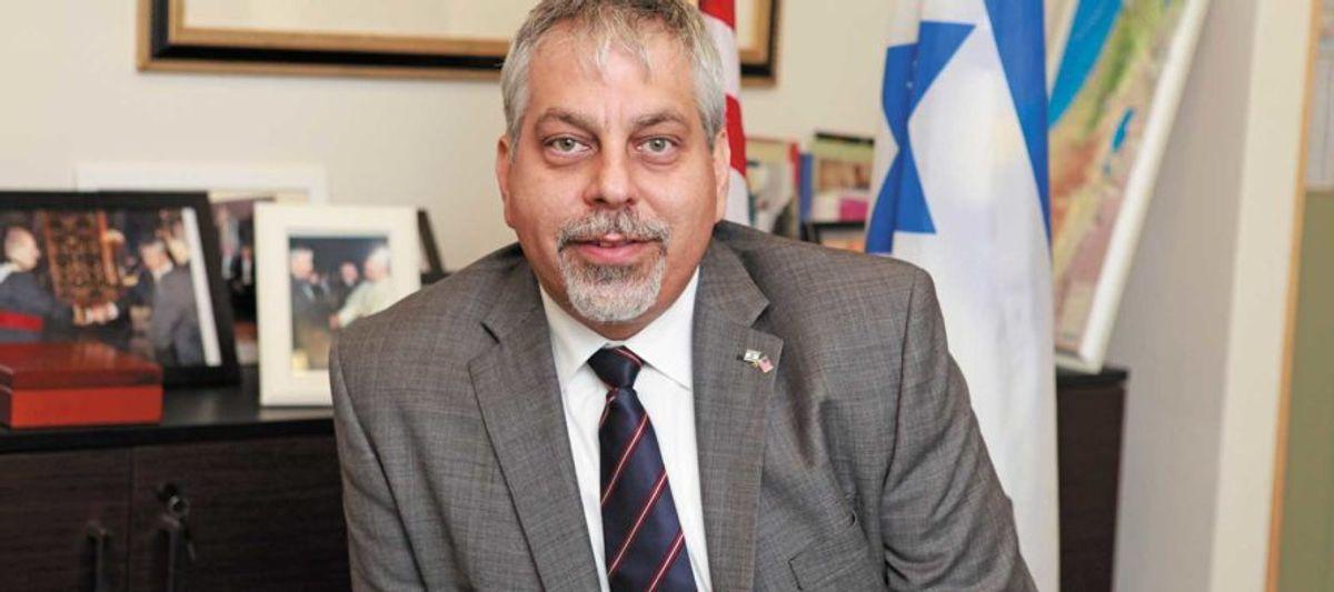 Lior Haiat, Portavoz del Ministerio de Relaciones Exteriores de Israel sostuvo una conferencia en torno de los ataques de Hamás a Israel