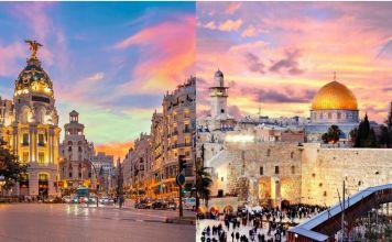 Madrid la capital de España y la capital de Israel Jerusalén están hermanadas por unas políticas de derechas que siguen el camino a la paz y la seguridad