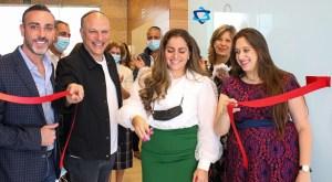 El templo Shaare Tzion, abrió sus puertas para recibir a los invitados a la inauguración del segundo cuarto de Yad Latinok, de la Comunidad Maguén David