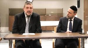 """El Templo Or Hashalom abrió sus puertas a la conferencia """"Iluminando el mundo"""" con los Rabinos Shlomo Tawil y Jaacob Nacach"""