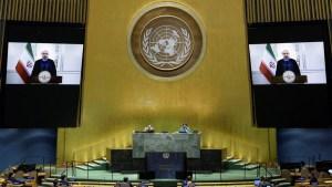 Irán recuperó su voto en la Asamblea General de la ONU luego de que EE.UU. permitiera a Teherán pagar unos 16 mmd que debía al organismo