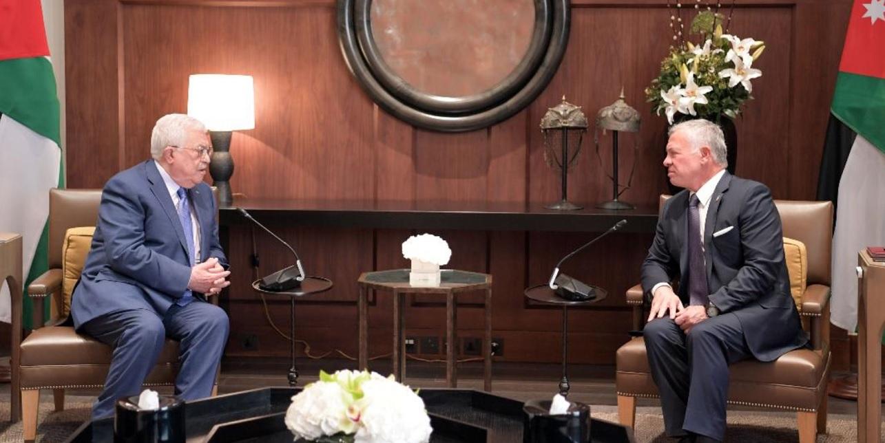 Mahmoud Abbas y Abdala II