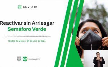 Semáforo en la Ciudad de México