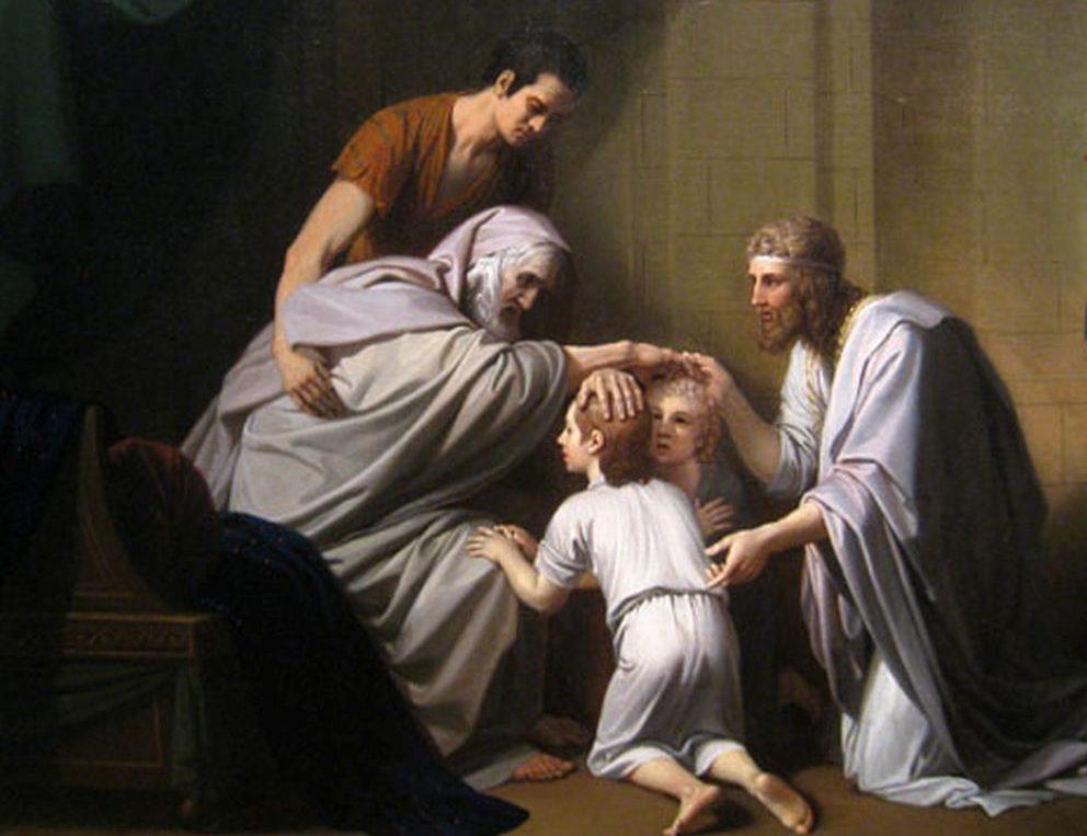 Jacobo gungiendo su rol de padre y patriarca