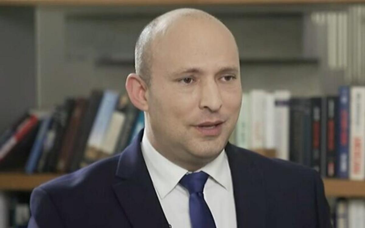 Líder de Yamina, Naftali Bennett