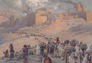 En el año 586 el imperio babilonio destruyó el Templo de los judíos, y sus tribus fueron expulsadas a Babilonia en lo que fue conocido como un exilio masivo
