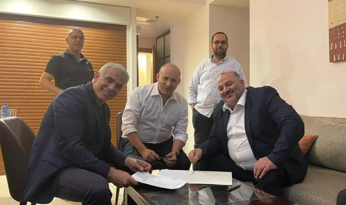 Nueva coalición de gobierno en Israel