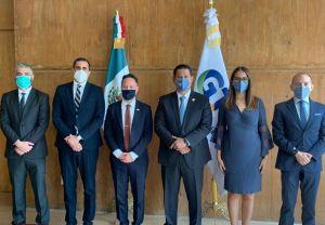 Funcionarios de Israel y Guanajuato