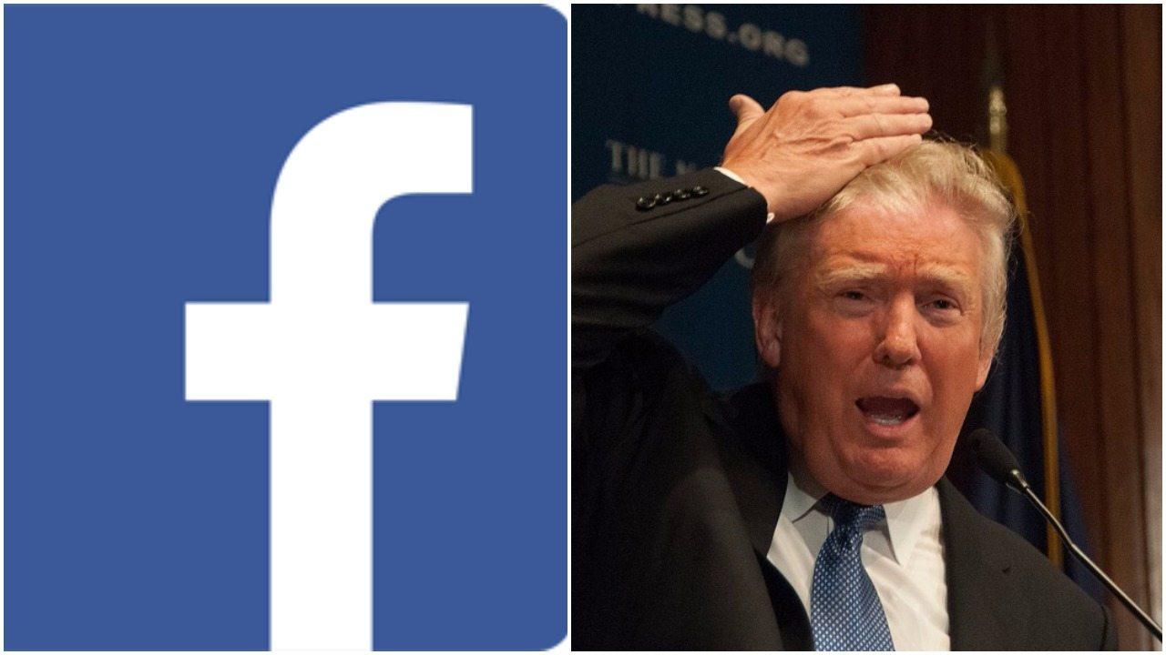 Facebook dijo que suspenderá las cuentas del expresidente de EE. UU., Donald Trump, durante dos años, luego de los incidentes violentos en el Capitolio