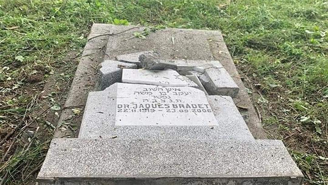 En dos incidentes separados, un cementerio judío fue vandalizado en Rumania y Ucrania El Centro de Monitoreo y Lucha contra el Antisemitismo-MCA informó
