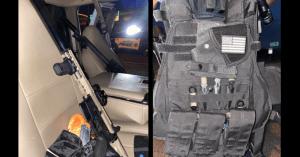 Un hombre en posesión de un alijo de armas de asalto, chalecos antibalas, una bomba, drogas y un manifiesto antisemita fue arrestado en San José, California